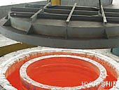 flanges heat treatment